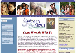world impact christian center